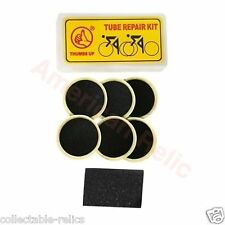 6X Glueless Patch Kit Puncture Repair Self Adhesive Cycle Bike Bicycle Tube 3767