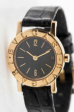 $6000 18k Yellow Gold BVLGARI Ladies Dress Watch NEW with WEAR