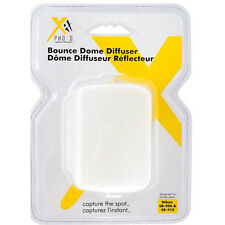Xit XTHD910 Bounce Hard Dome Diffuser for Nikon SB-900 SB-910 SB910 SB900 White