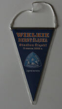 old Pennant for collectors Ruch Chorzow Gornik Zabrze 2008 Stadion Slaski DERBY