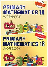 Singapore Primary Math 2 Workbooks 1A and 1B US Edition -FREE Expedited Shipping