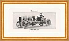 Gobron Brillie 1903 Rennwagen Speichenrad Cabrio 100 PS Sport Lexikon 018