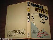 LIBRO/BOOK=ENZO FERRARI=FORMULA 1 F.1=ENZO BIAGI=RIZZOLI EDITORE=1980=