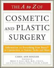 The A to Z of Cosmetic and Plastic Surgery (Facts on File Library of Health & Li