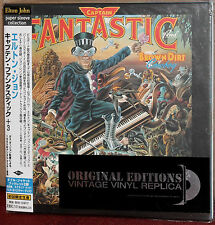 JAPAN Made CD UICY-9109: ELTON JOHN - Captain Fantastic and... - OBI 2001 OOP SS