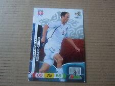Carte adrenalyn panini - Euro 2012 - République Tchèque - Roman Hubnik