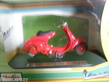 MAISTO VESPA 98 CORSA 1947 1:18 SCALE, DIECAST MODEL COLLECTABLE
