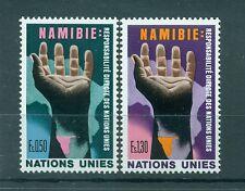 """Nations Unies Géneve 1975 - Michel n. 52/53 - """"Namibie"""""""