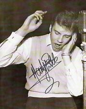 MARTY WILDE - Signed 10x8 Photograph - MUSIC