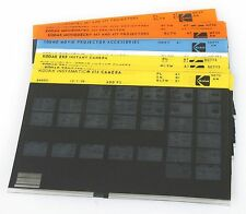 KODAK MICROFICHE, SET OF 17 FOR MOVIEDECK, INSTAND CAMERA AND INSTAMATIC