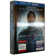 Man Of Steel [Blu-ray Digibook with Lenticular cover] [Target Exclusive] [USA]