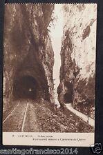 1493.-ASTURIAS -17 Peñas juntas .Ferrocarril minero y Carretera de Quirós