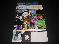 Free Comic Book Day 2016 Dark Lily And Friends Space Goat Productions