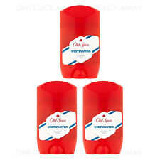 3 x Old Spice Whitewater Deodorant Deo Sticks Roll On Anti-Perspirant 50ml