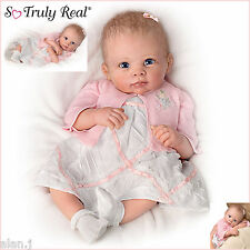 A Moment In My Arms Baby Girl Doll Weighted Poseable Baby by Ashton-Drake