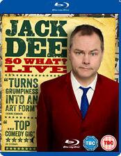 JACK DEE SO WHAT LIVE - BLU-RAY - REGION B UK