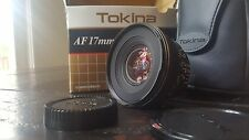 NEW Tokina AT-X PRO 17mm F3.5 Aspherical MF AF Lens For Nikon [Exc++] with case