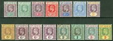 St Lucia 1904-10 SG 64-77. ½d-5/- set of 15. Fine fresh mint CAT £300