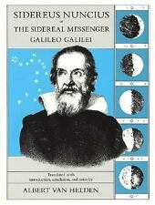 Sidereus Nuncius or the Sidereal Messenger by Galileo Galilei (1989, Paperback)