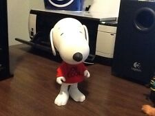 "Peanuts Snoopy 6.5"" Action Figure W/red Shirt Joe Cool Poseable Toy"