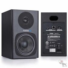 "Fostex Pm0.4d Personal Active Studio Speaker 4"" 2-Way Monitor System Pair Black"