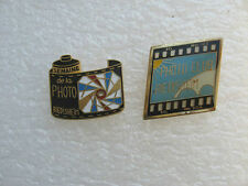 2 PIN'S RIEDISHEIM PHOTO CLUB et SEMAINE DE LA PHOTO PINS PIN TOURISME  U20