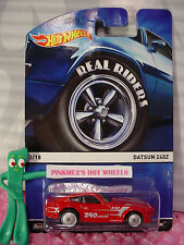2015 Hot Wheels Real Riders #3 DATSUN 240Z☆Red; 240 Special;Good Year☆Heritage
