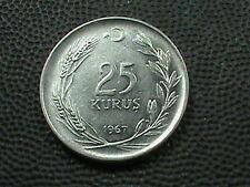TURKEY    25  Kurus    1967
