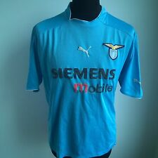 LAZIO 2002 HOME FOOTBALL SHIRT PUMA JERSEY SIZE ADULT L