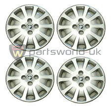 Set of FOUR Genuine Fiat, Brand New Mk2 Fiat Punto 14 Inch Wheel Trims 50900386