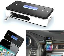 Transmetteur FM voiture Sans Fil Radio iPhone 3GS 4 4S 5 iPod Touch LCD