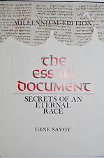 THE ESSAEI DOCUMENT: SECRETS OF AN ETERNAL RACE  SAVOY SIGNED