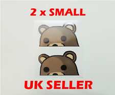 Meme Bear Sticker Pack Decal Funny JDM 4chan 9gag - 2 x 7CM FACING LEFT
