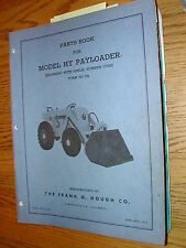 International Hough HY PARTS MANUAL BOOK CATALOG WHEEL PAYLOADER GUIDE LIST HY3A