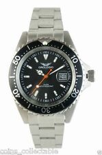 RRP $998 - New Orologio X2 Collection Men's Date Sports Watch - Black & Silver