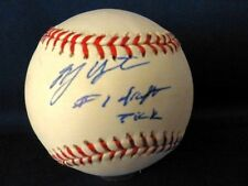 B.J. Upton Signed Major League Baseball  with case and Personal COA