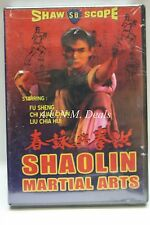 Shaolin Martial Arts DVD