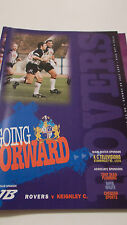 20.7.97 Featherstone Rovers v Keighley Cougars programme