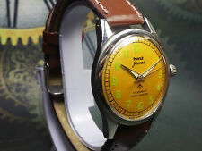 VINTAGE HMT JAWAN 17 JEWELS HAND-WINDING MOVEMENT ANALOG DIAL WRIST WATCH AC205
