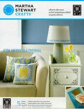 Martha Stewart Damask ~ Adhesive Silkscreen Stencils #32930 Frame, Flower Corner