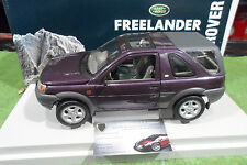 LAND ROVER FREELANDER violet 1/18 ERTL Collectibles 7077 voiture miniature 4x4