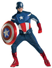 CAPTAIN AMERICA THEATRICAL COSTUME & SHIELD AVENGERS THE WINTER SOLDIER 50-52