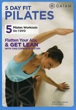 Pilates Exercise DVD - 5 Day Fit Pilates - 5 Workouts!