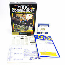 Wing Commander for MS-DOS by ORIGIN Systems In Big Box, 1990, Sci-Fi, Flight