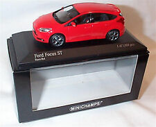Ford Focus ST 2011 RED New in Box ltd edition 1-43 Minichamps 410081001