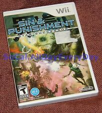 Sin and Punishment: Star Successor (Nintendo Wii) BRAND NEW & SEALED 1-2 players