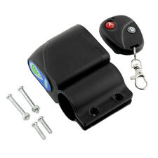 New Lock Bicycles Bikes Security Wireless Remote Control Vibration Alarm Super