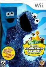 Sesame Street: Cookie's Counting Carnival - The Videogame (Nintendo Wii, )532