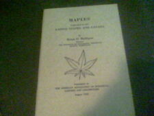 Maples cultivated in the United States and Canada by Brian O. Mulligan August ed