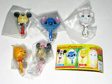 Yujin Mickey Stitch Marie Pool Minnie Pt.1 Musical instruments keychain figure
